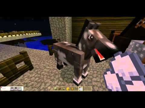how to get a cow horse in mo creatures