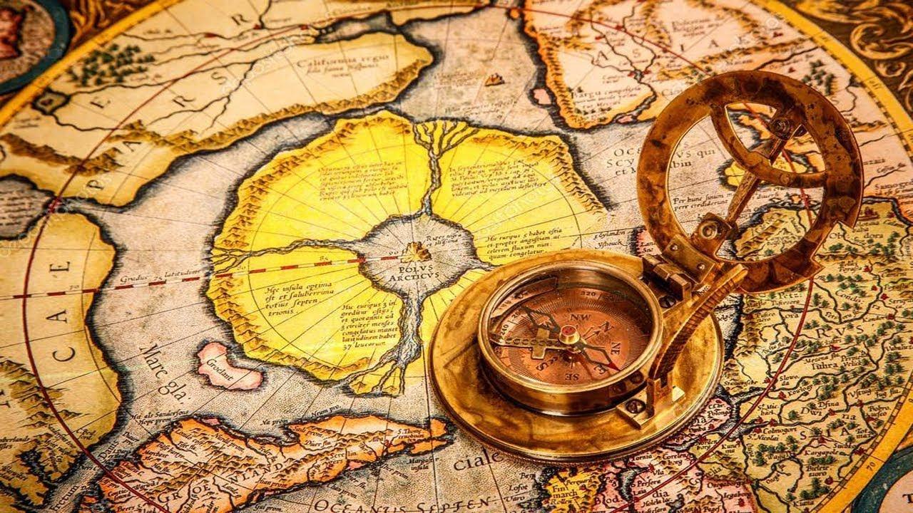 اكتشاف خريطة قديمة توضح اماكن مجهولة علي الارض Youtube