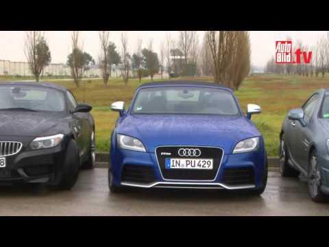 Autobild Vergleich Porsche Boxster Vs Audi Tt Rs Vs Bmw Z4