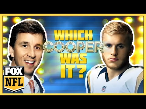 Which Cooper was it? | The Manning Hour | FOX NFL