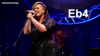 (HD) Kelly Clarkson - The Heartbeat Song Vocal Showcase Eb4 - Eb5