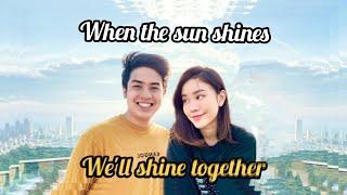 'When the Sun shines, We'll shine Together..'    JESSICA JANE & JEROME POLIN