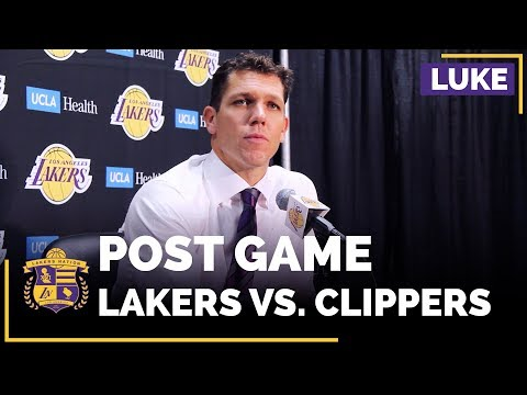 Luke Walton On Julius Randle's Frustrations, Lonzo Ball's Debut