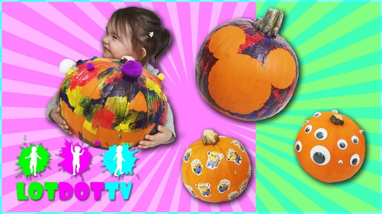 Diy Pumpkin Decorating For Kids Mickey Mouse Stencils Minion Stickerore