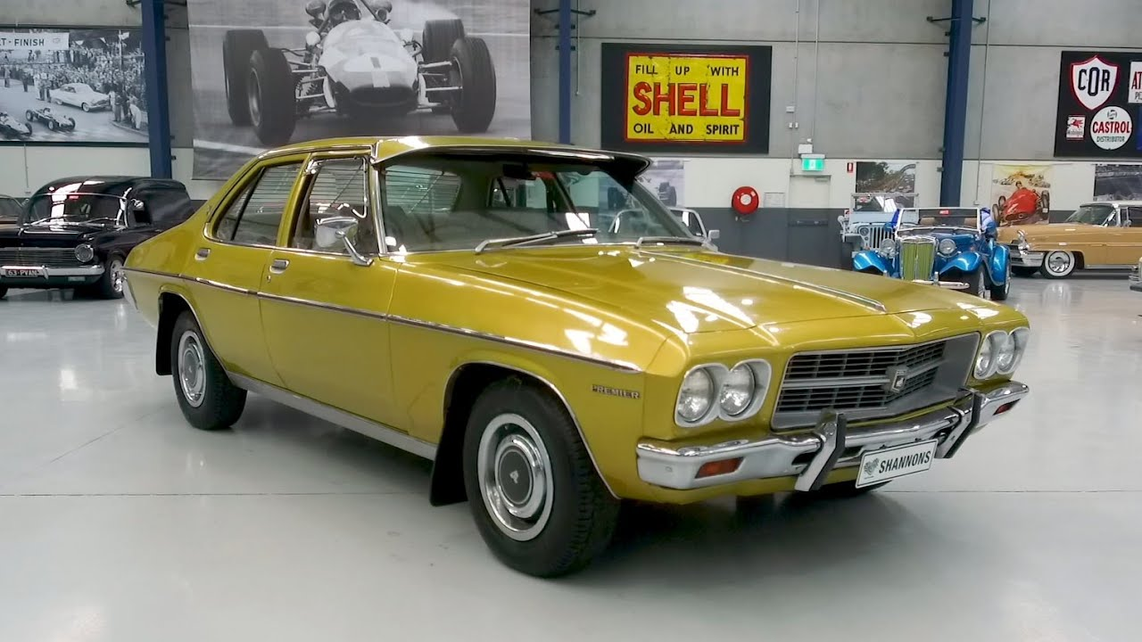 1974 Holden HQ Premier 308 V8 Sedan - 2020 Shannons Winter Timed Online Auction
