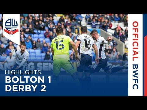 HIGHLIGHTS | Bolton 1-2 Derby