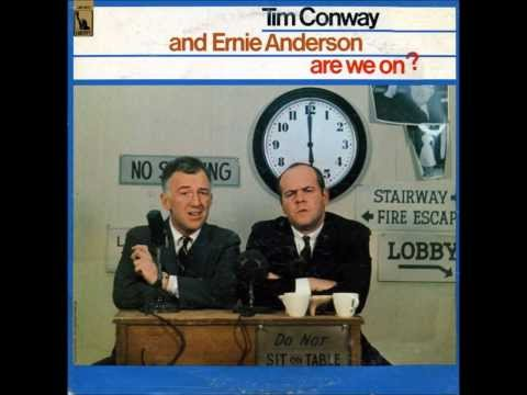 1966 Tim Conway & Ernie (Ghoulardi) Anderson ARE WE ON Comedy Album