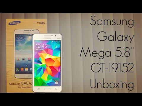 """Samsung Galaxy Mega 5.8"""" GT-I9152 Unboxing - Indian Retail Unit - PhoneRadar"""