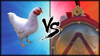 UEBS - 300 SPARTA VS CHICKEN | ULTIMATE EPIC BATTLE SIMULATOR