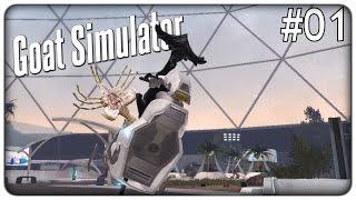LA CAPRA ALIEN!! | Goat Simulator: Waste of Space - ep. 01 [ITA]