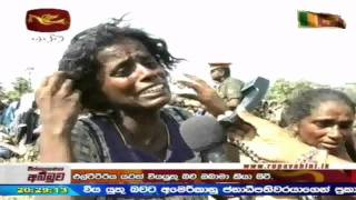"""Sole Representative of Tamils"" Continues to Fire at Fleeing Civilians"
