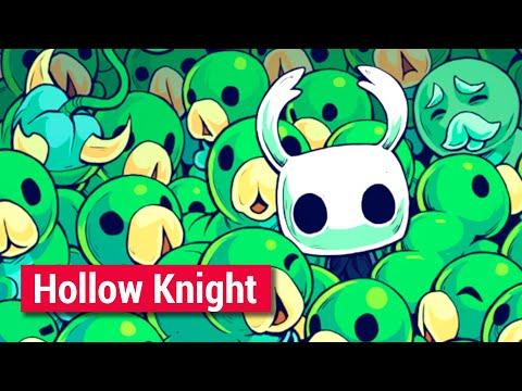 Лучшая метроидвания. Hollow Knight.
