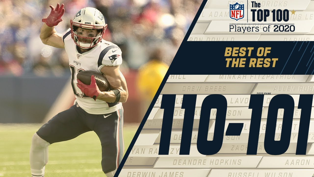 110 101 The Best Of The Rest Top 100 Nfl Players Of 2020 Youtube