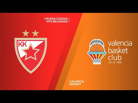 Crvena Zvezda mts Belgrade - Valencia Basket Highlights | Turkish Airlines EuroLeague, RS Round 15
