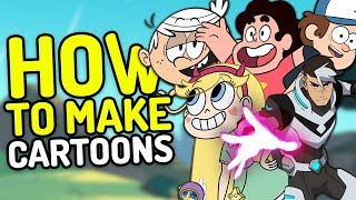 Gambar cover How Modern Cartoons Are Made! (Cartoon Network, Nickelodeon, Disney Channel & More!)