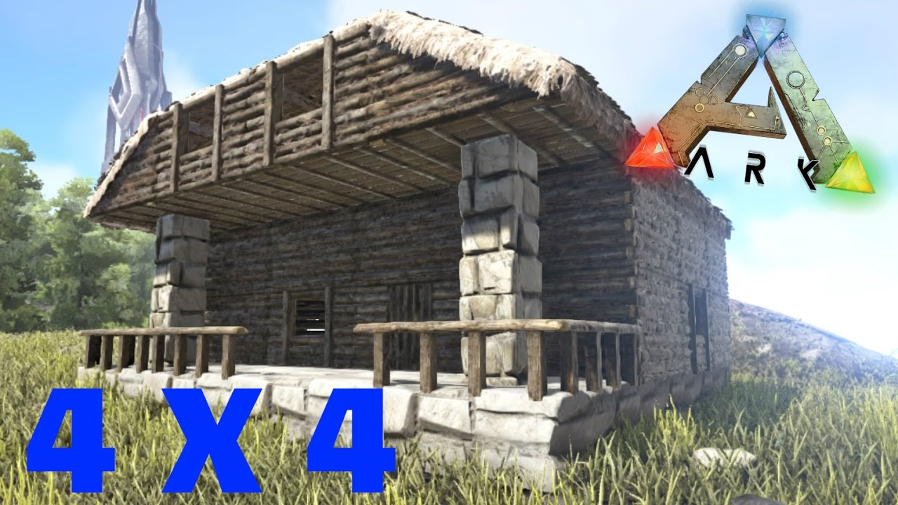Ark ps4 design maison 4 x 4 rp youtube for All design maison