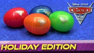 Cars 2 Holiday Edition Surprise Easter Eggs Diecast Cars Disney/Pixar 2012