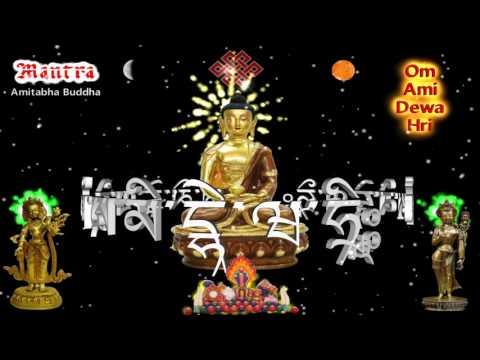 Amitabha Buddha Mantra - Phật A Di Đà _ Tâm Chú - Xoay