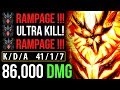 THE REASON WHY 7.07 SHADOW FIEND SO IMBA- Rampage Dota 2 Cancer Gameplay