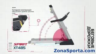 Беговая дорожка Spirit Fitness XT485 (2017). Обзор