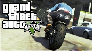 GTA 5: BIKE STUNTS MONTAGE