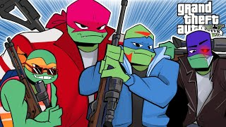 NINJA TURTLES SAVE THE CITY! 🚀 | GTA 5 Online