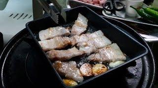 [먹방극장]삼겹살 먹방~ pork belly mukba…