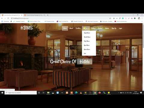 Hotel Booking Management System Using PHP And MySQL