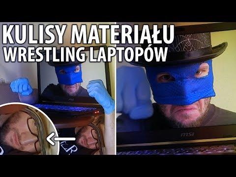 Kulisy powstawania materiału Wrestling Laptopów