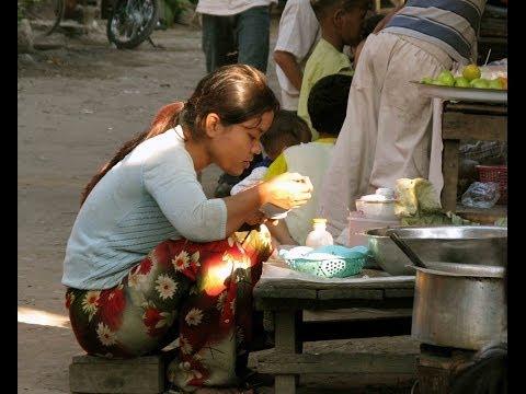 Yangon Streets Burma (Myanmar)