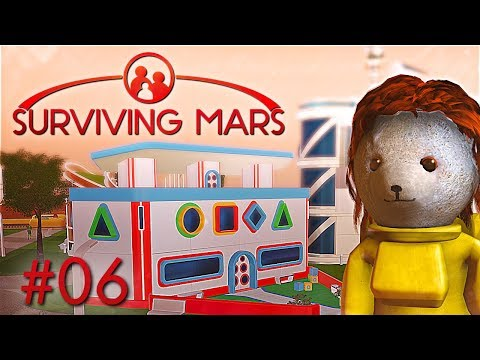 Geburten & Kindergarten Surviving Mars Deutsch German Gameplay #6