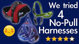 "TESTING ""NO PULL"" HARNESSES 