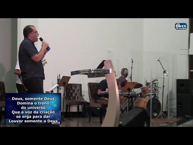 Culto Primeira Igreja Batista em Guarapari 22/04/2021-19:30h