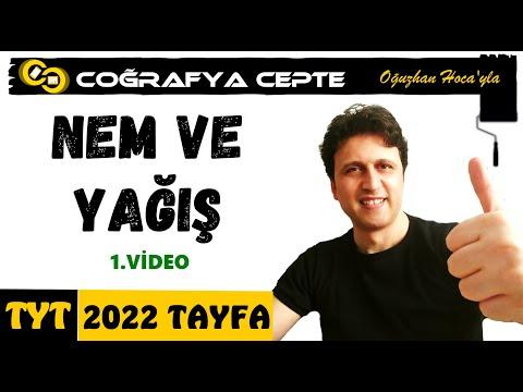 NEM VE YAĞIŞ 1 - TYT COĞRAFYA - YKS...