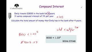 Compound Interest - Corbettmaths