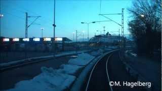 Turku Satama-Turku junalla/Turku Harbour-Turku line with train