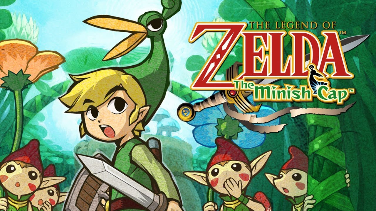 Image result for the legend of zelda the minish cap