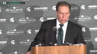Tom Izzo Press Conference: Michigan State 59 Ohio State 56