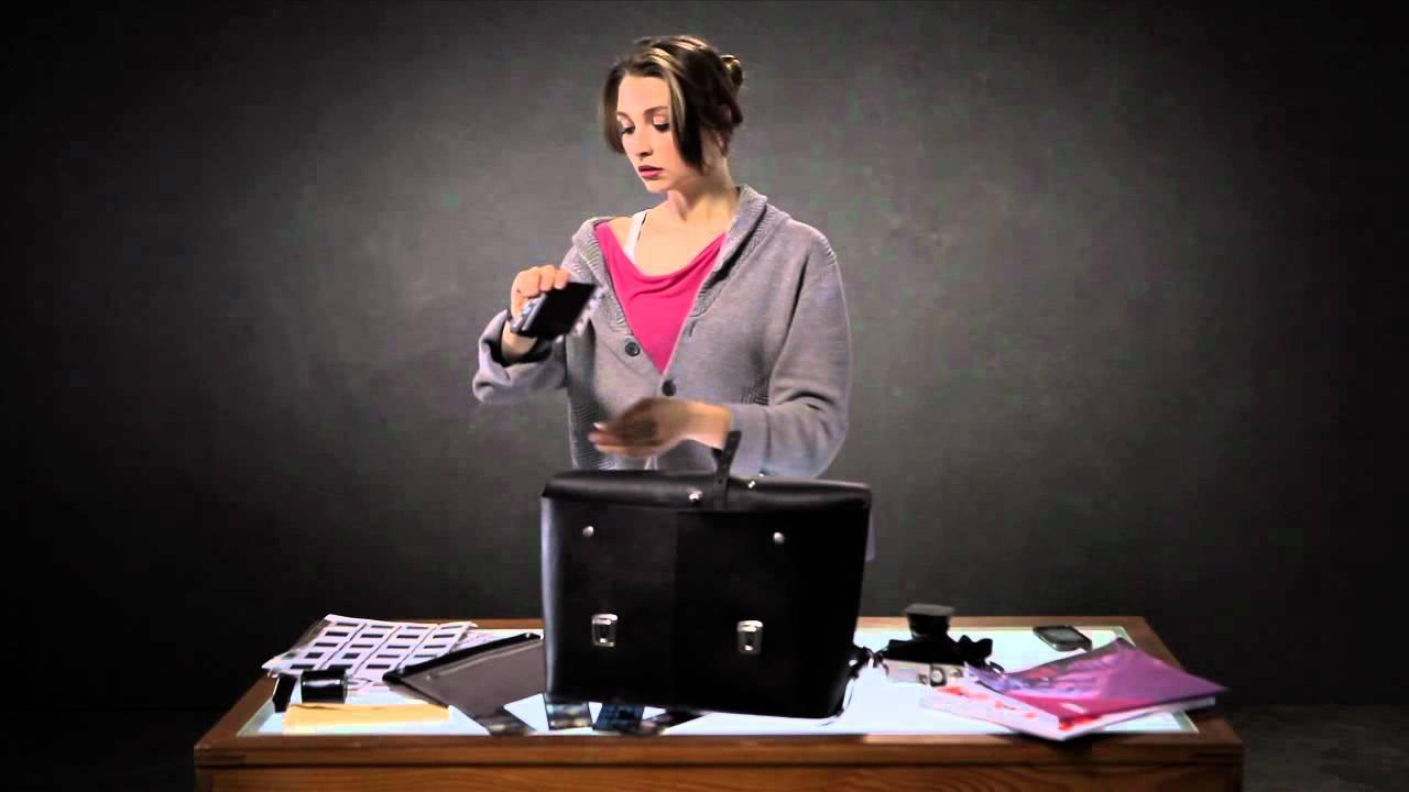 BROOKS // Eton Leather Satchel - YouTube