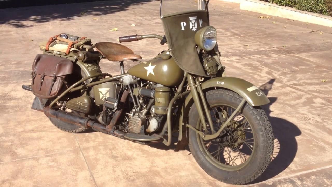 Harley Davidson Army: 1941 Harley Davidson Military EL Knucklehead For Sale