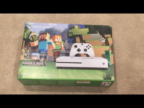 xbox one s minecraft bundle 1tb