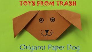 Origami Paper Dog |  Kannada