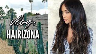 HAIRIZONA VLOG: GETTING MY HAIR/EXTENSIONS DONE | Stephanie Ledda