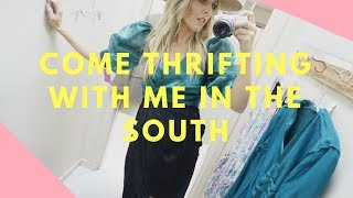 COME THRIFTING WITH MY IN THE SOUTH AND A BIT OF A TRAVEL VLOG