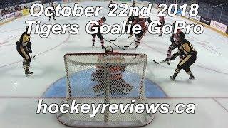 October 22nd 2018 Tigers Hockey Goalie GoPro Yi 4K+
