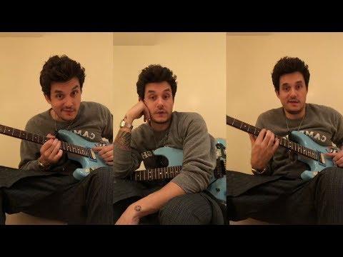 John Mayer   Instagram Live Stream   27 January 2018 [ Guitar Lesson ]