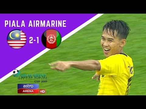 Piala Airmarine : Malaysia lwn Afghanistan | 2-1 | Astro Arena
