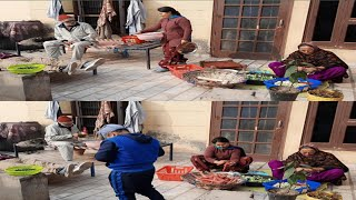 #Rurallifepunjab #Villagelife  Village life of punjab||Happy life of punjab|punjabi cooking and pun