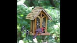 Birdscapes 50172 Mountain Chapel Bird Feeder; Outdoor Bird Feeders