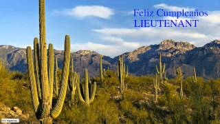 Lieutenant  Nature & Naturaleza - Happy Birthday